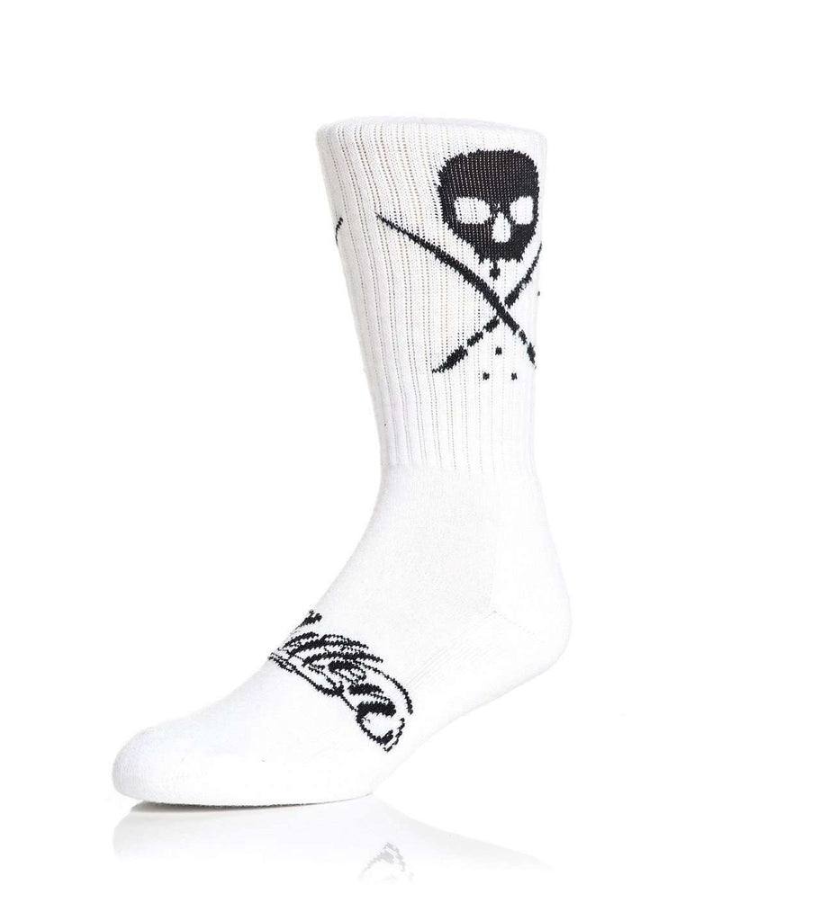Standard Issue Socks White/Black