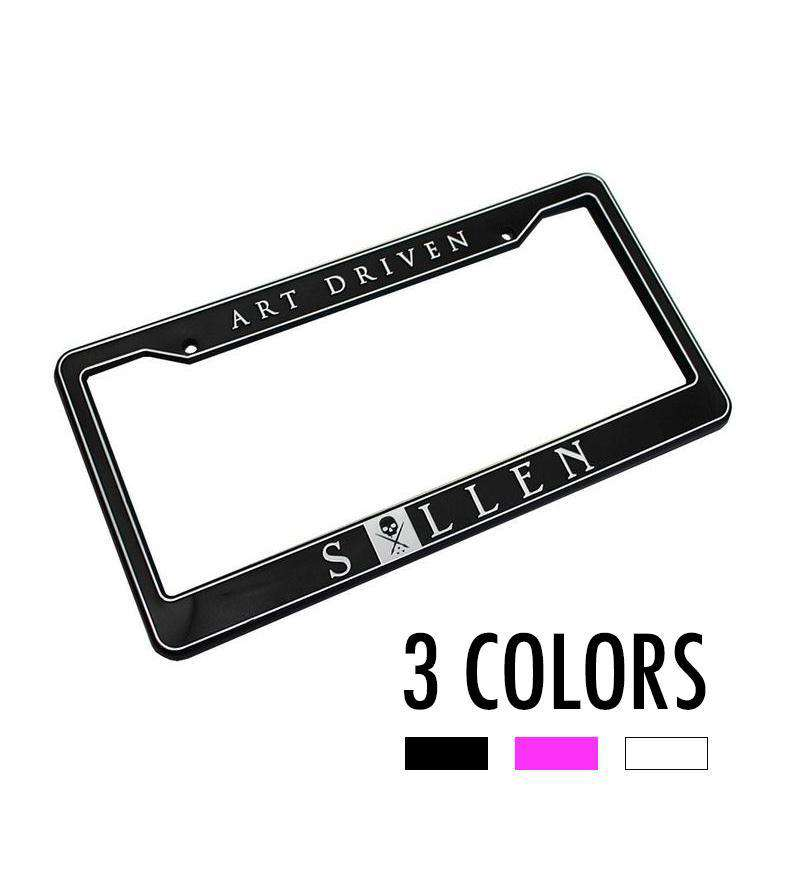 Art Driven License Plate Frame - Sullen Art Co.