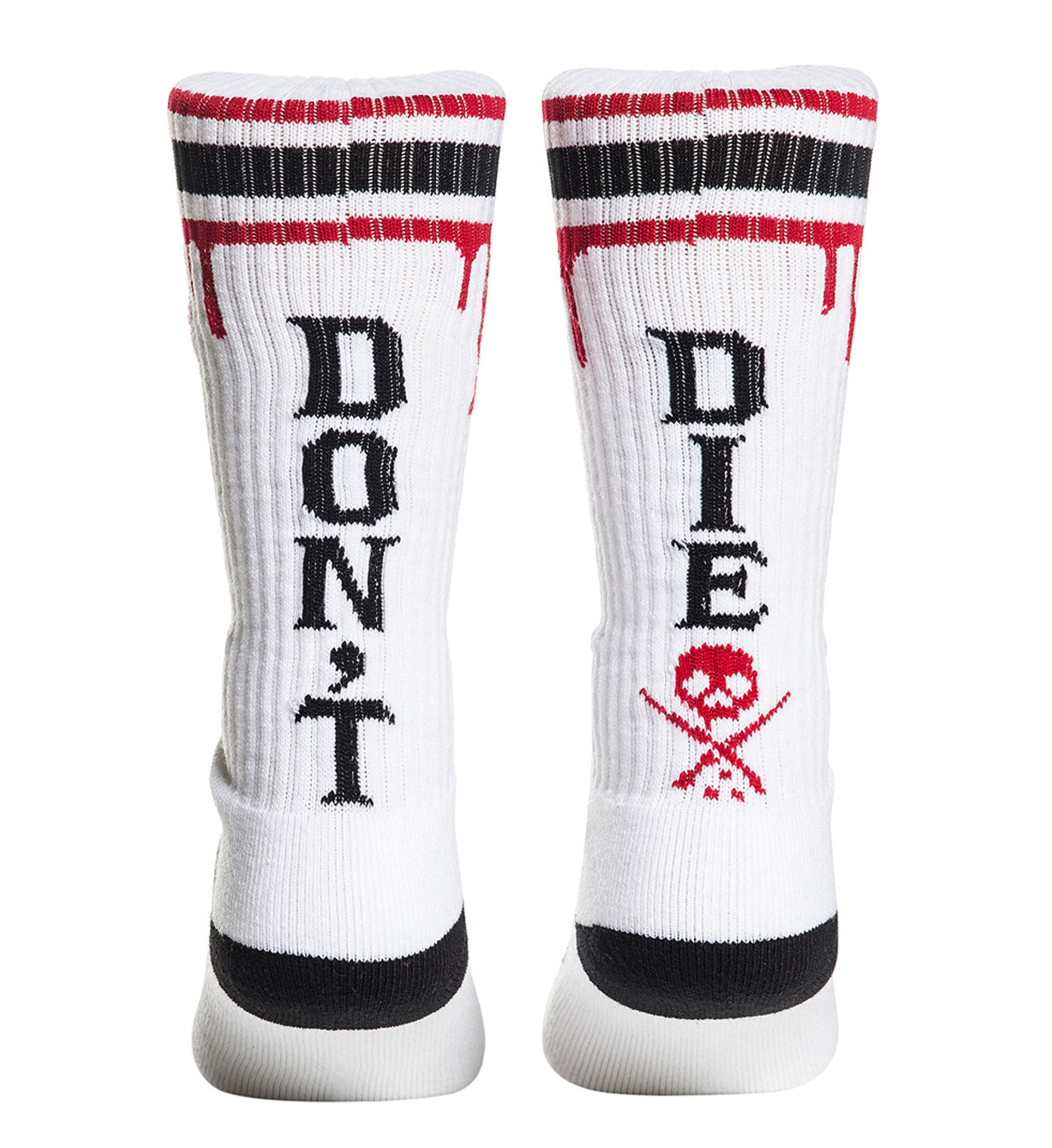 Don't Die High Socks White