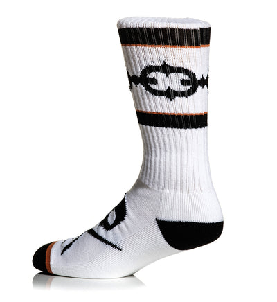 Linked Socks White