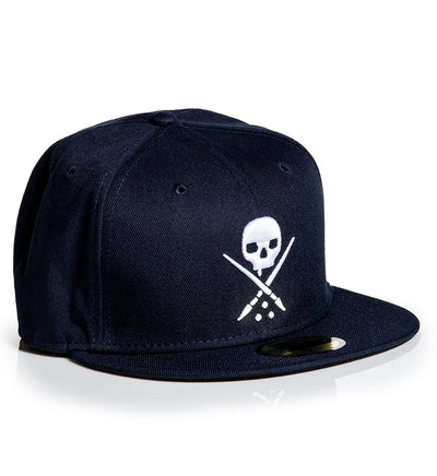 Fitted Badge Navy