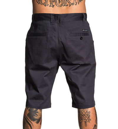Direct Walk Shorts Grey - Sullen Art Co.