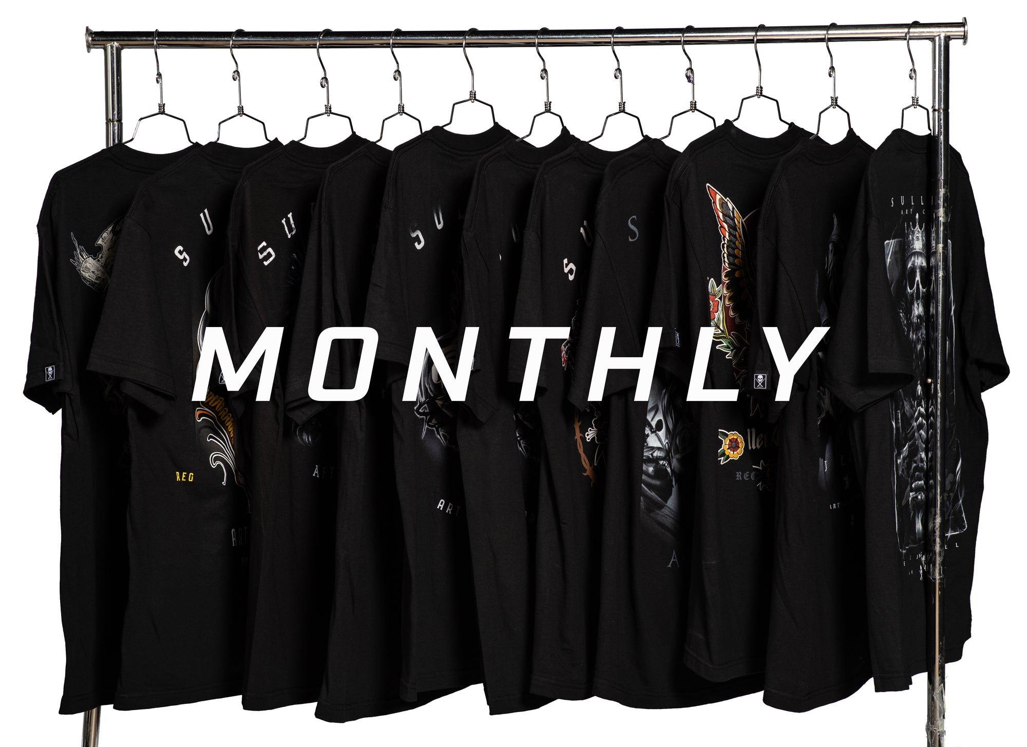Artist Series Tees - Monthly