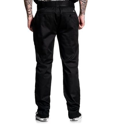 925 Chino Stretch Pant Black