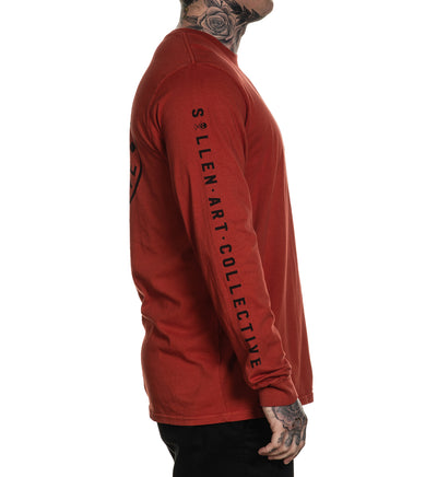 Ever Long Sleeve Teracotta