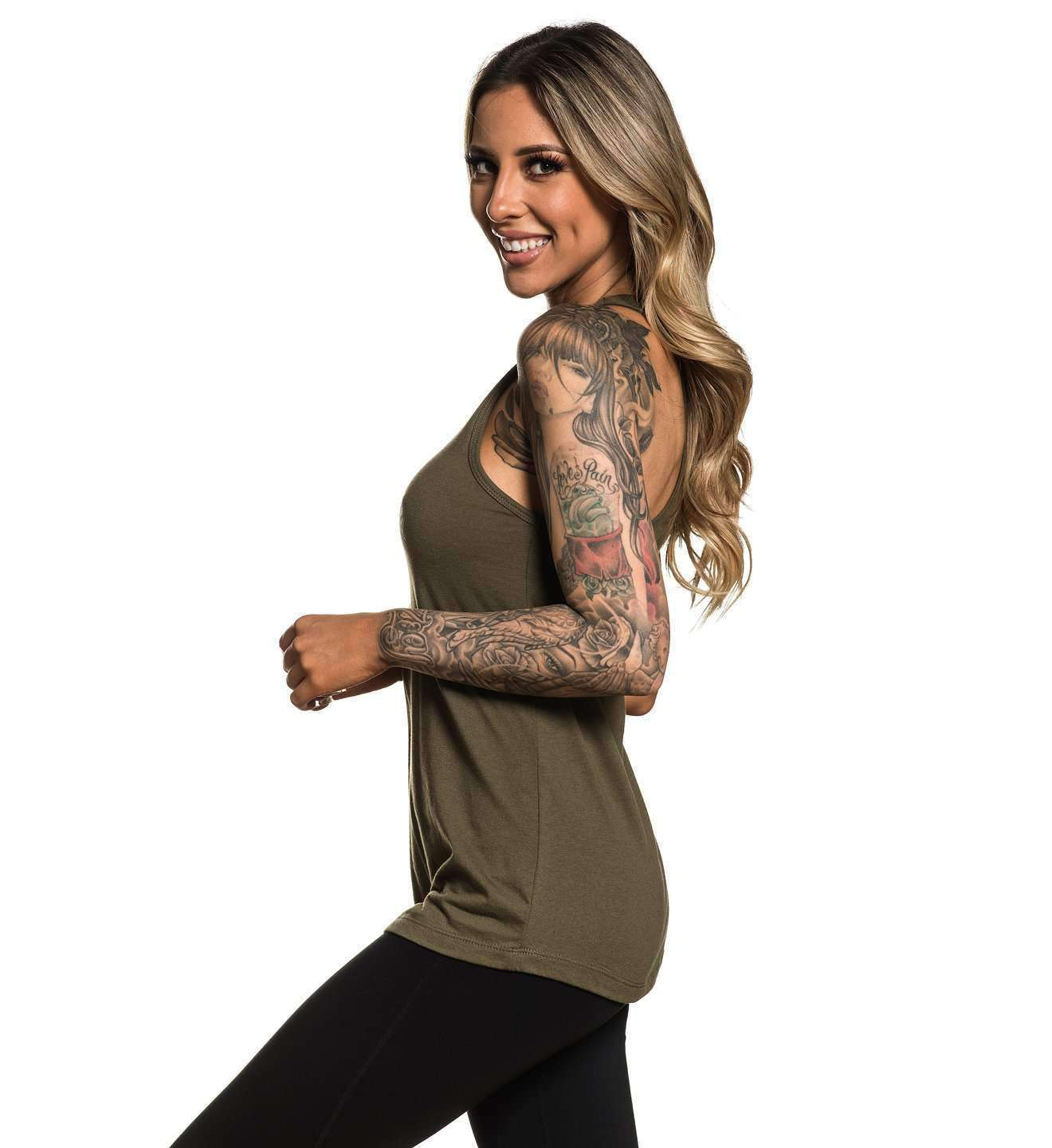 Standard Issue Tank Military Green