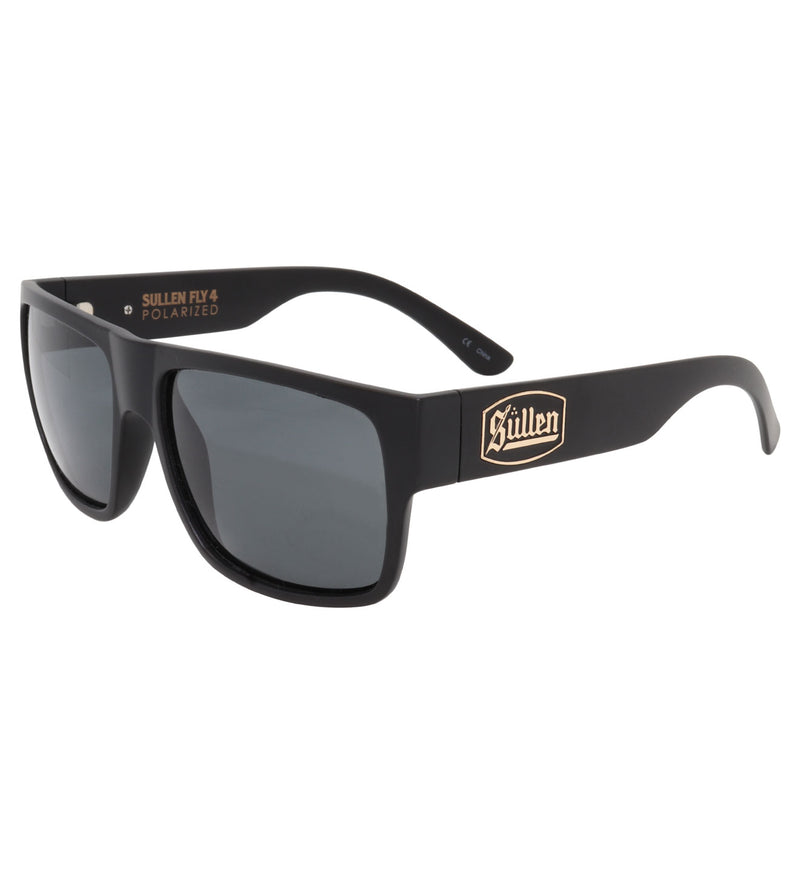 Sullen Fly 4 Polarized Shiny Black