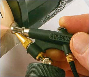 61418 / 10278 / 800493 Air Brush Gun