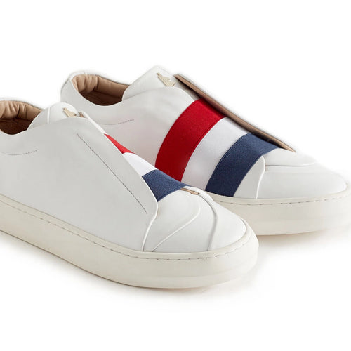Daniel Essa Sneaker | Red + White + Blue