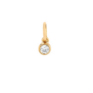 14 KY Diamond Bezel Charm (ONLY)