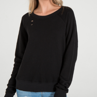 Keva V Neck Sweater | Chalk