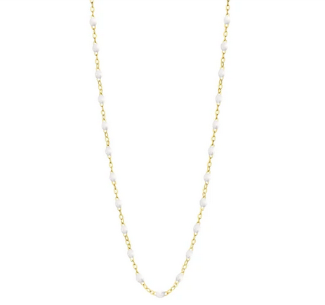 "Gigi Clozeau Necklace | White | 16.5"" to 24.2"""