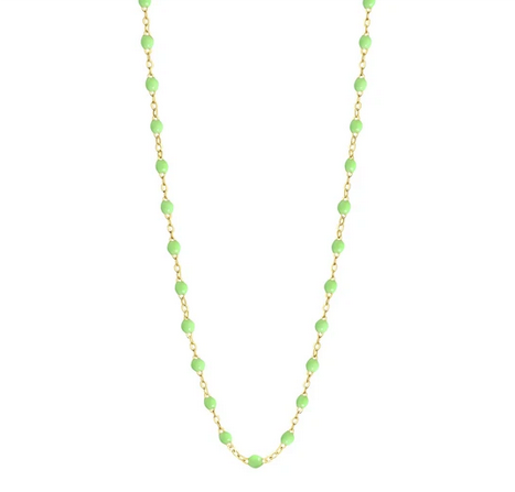 "Gigi Clozeau Necklace | Anis Green | 16.5"" to 24.2"""