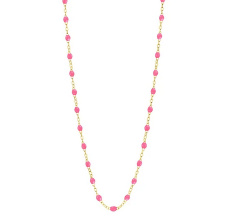 "Gigi Clozeau Necklace | Pink | 16.5"" to 24.2"""