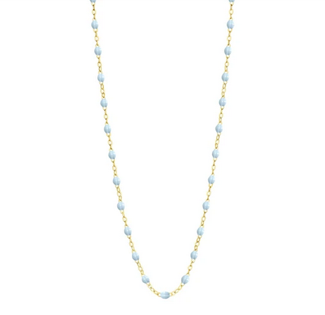"Gigi Clozeau Necklace | Baby Blue | 16.5"" to 24.2"""