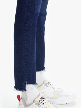 The Looker Ankle Step Fray Jean | Bombay Lost and Found