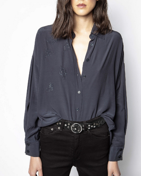 Tamara Strass Shirt | Black