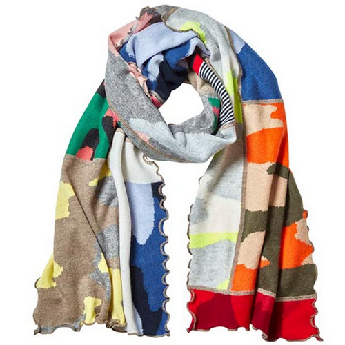 Patchwork Scarf | Multi