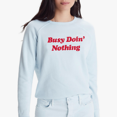 The Hugger Sweatshirt | Busy Doing Nothing