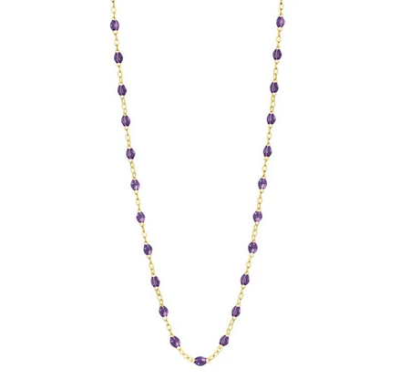 "Gigi Clozeau Necklace | Mauve | 16.5"" to 24.2"""