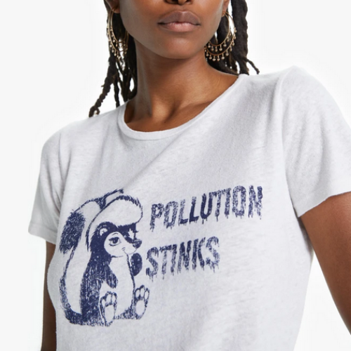 Itty Bitty Goodie Goodie Tee | Pollution Stinks