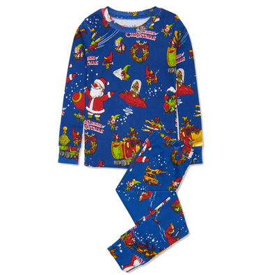 Twelve Sleighs of Christmas Pajamas