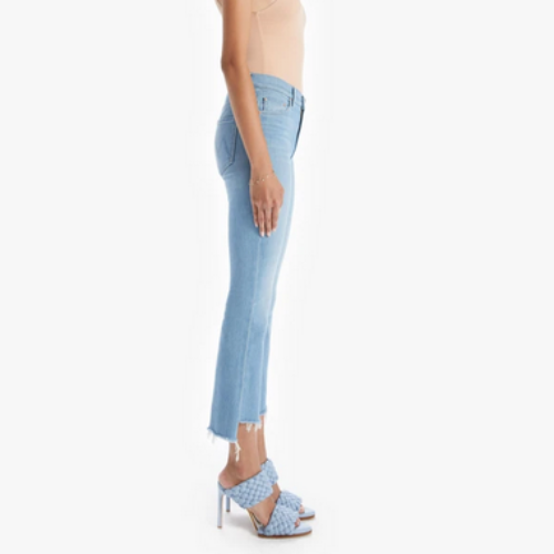 Insider Crop Step Fray Denim | Hold my Hand