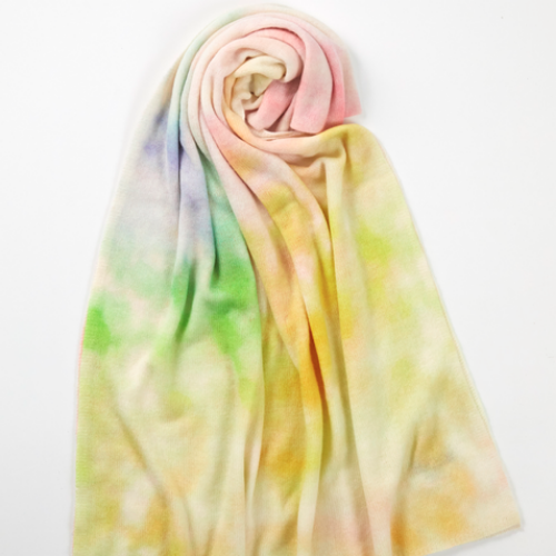 California Cashmere Travel Wrap | Sherbert