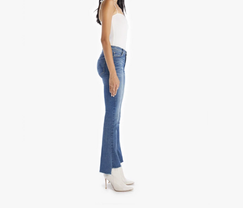 The Runaway Step Fray Denim | Leaps and Bounds