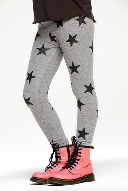 Girls Knit Leggings | Stars
