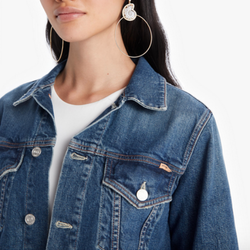 The Cut Drifter Denim Jacket | Born to Bite