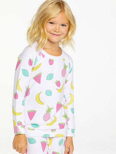 Girls Tangy Fruit SET | Pants and Long Sleeve Top