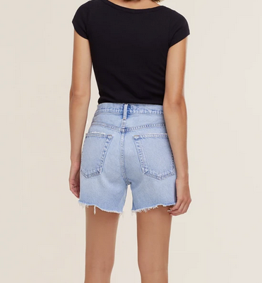 Parker Long Loose Fit Denim Shorts | Parade