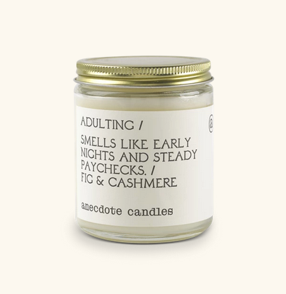 Adulting Candle