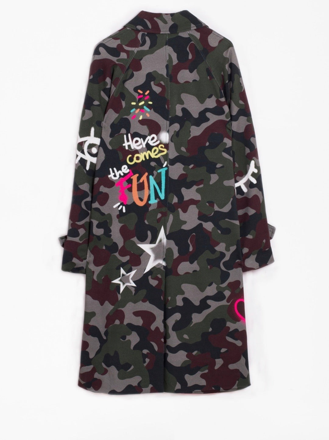 Camo Grafiti Jacket