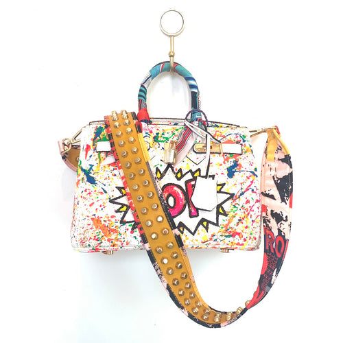 POP Painted Bag | White | Small