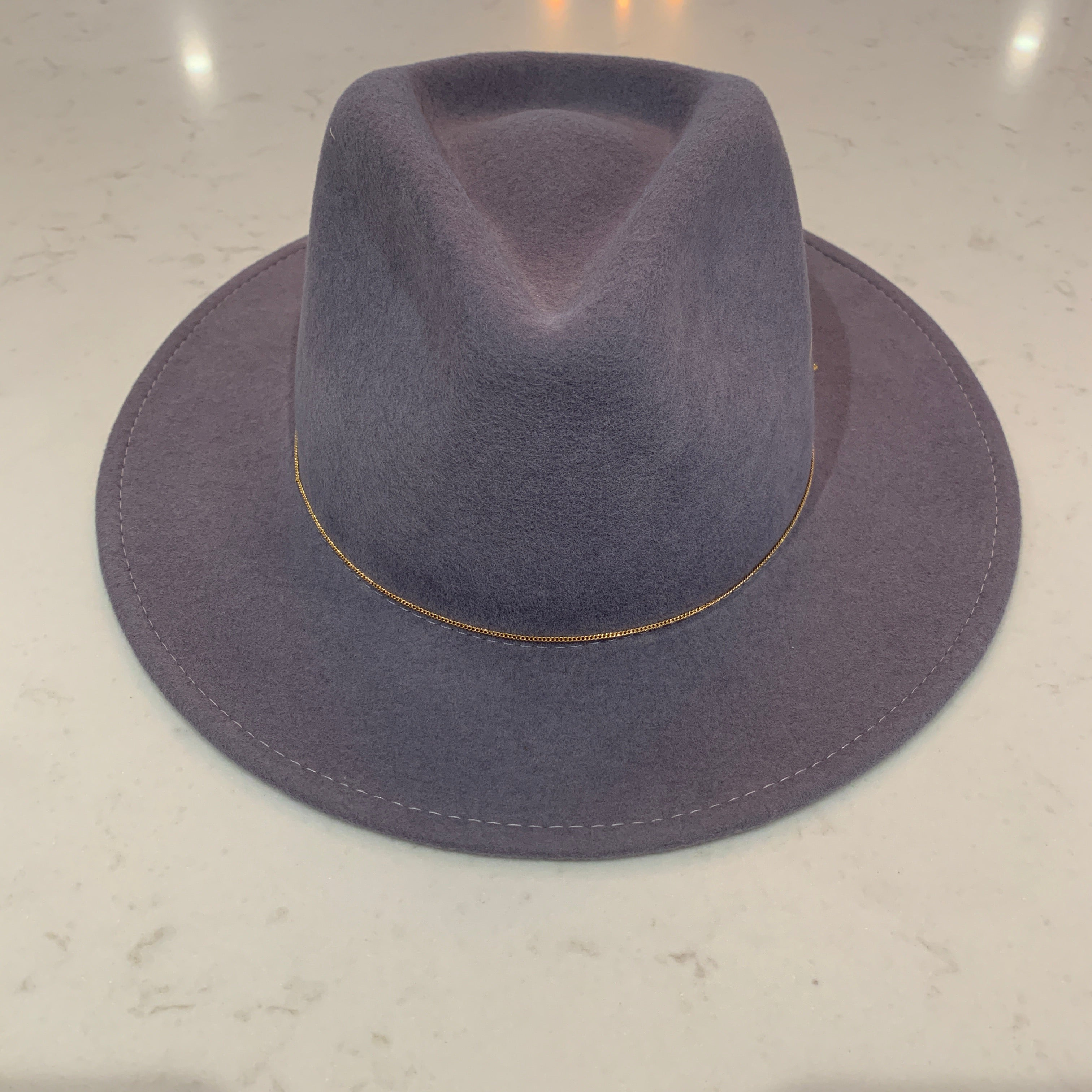 Dakota Hat | Light Grey Sea