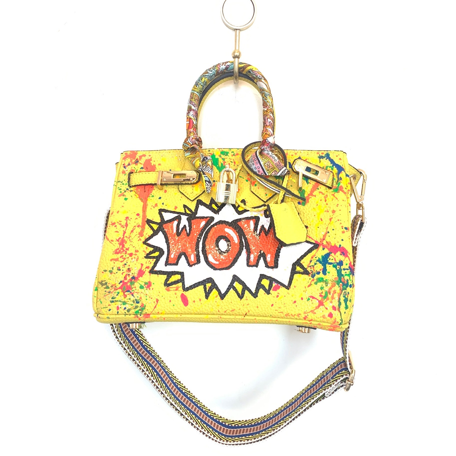 WOW Painted Bag | Yellow | Small