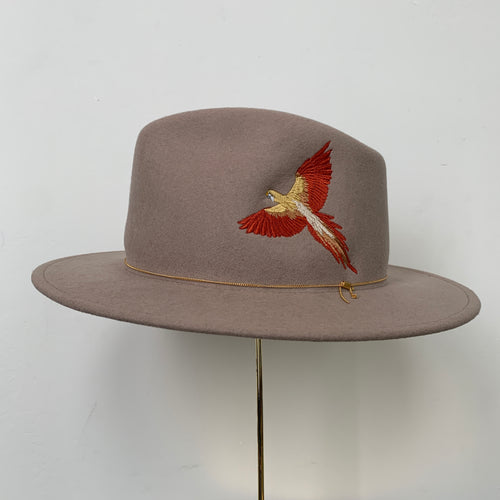 Dakota Hat | Beige Terracotta