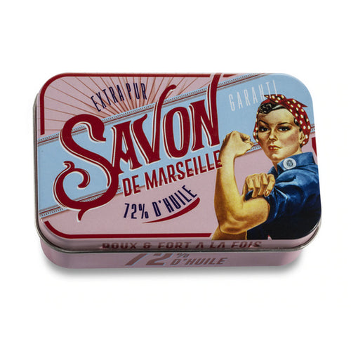 Rose Soap Tin | Soft and Strong