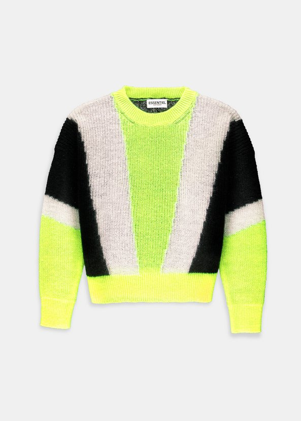 Vermouth Sweater | Yellow + Black + Cream