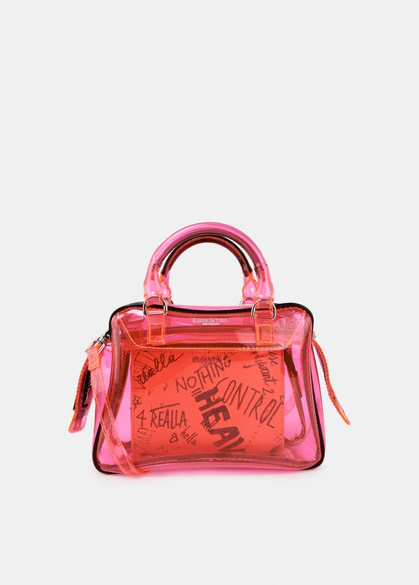 Vilietta See Through Bag | Pink
