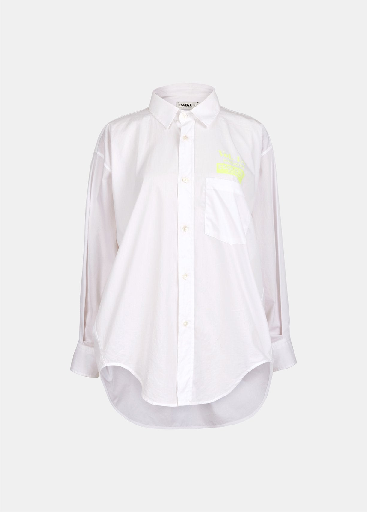 Vosiris Button Down Shirt | White