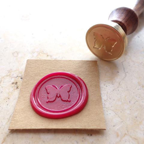 Butterfly - Wax Sealing Stamp Set