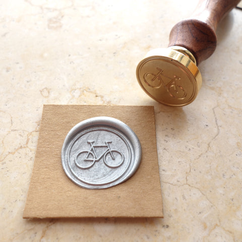 Bicycle - Wax Sealing Stamp Set