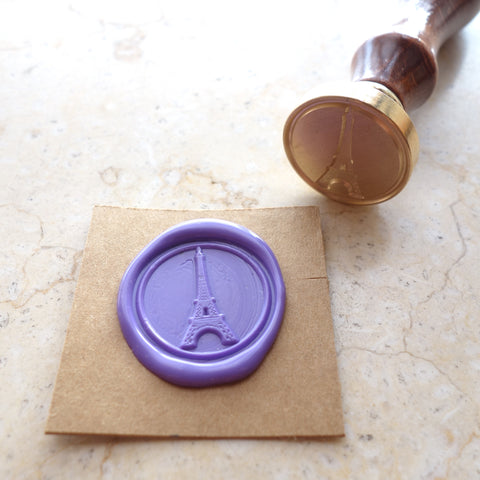 Eiffel Tower - Wax Sealing Stamp Set