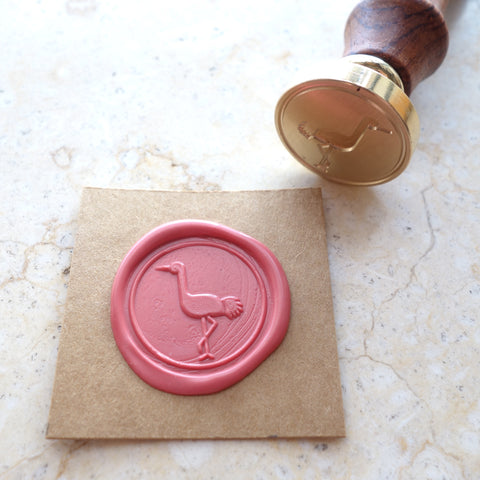 Flamingo - Wax Sealing Stamp Set