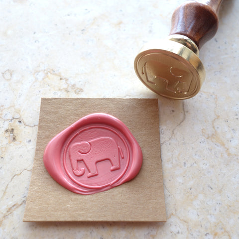Elephant - Wax Sealing Stamp Set