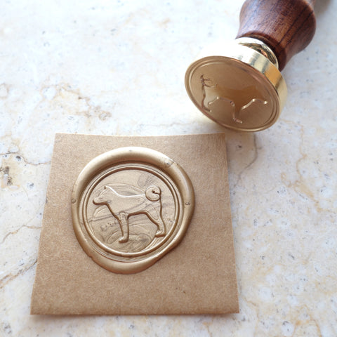 Dog - Wax Sealing Stamp Set
