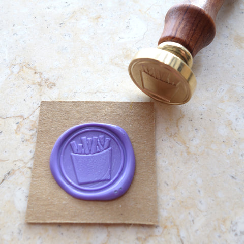 French Fries - Wax Sealing Stamp Set